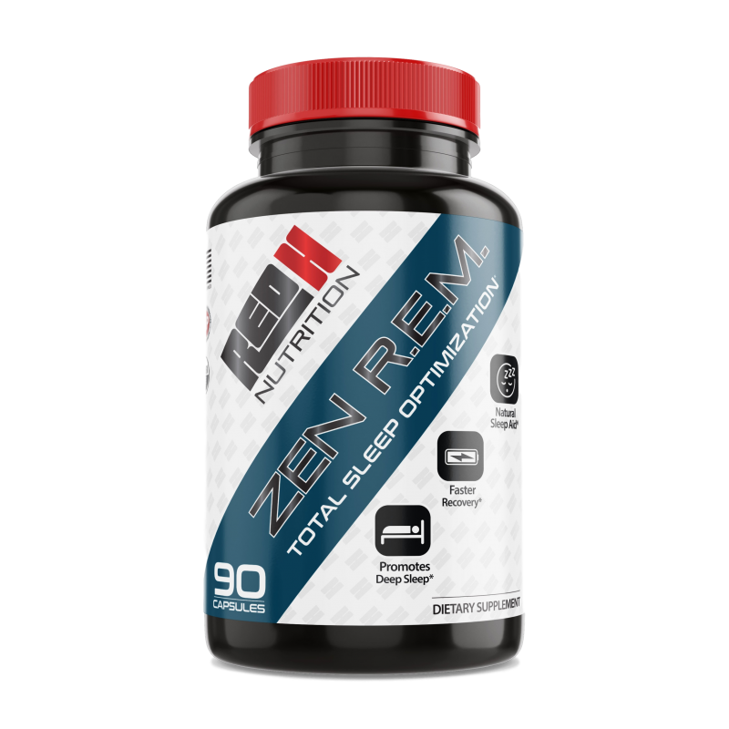 ZEN R.E.M. is one of the best supplements for CrossFit athletes because it helps boost recovery and optimize sleep.
